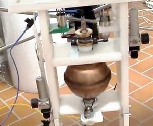 Novo reator não-nuclear da Fundação Keshe