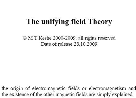 Keshe Teoria Unificada